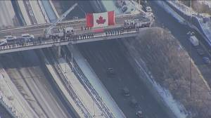 Hundreds of Calgarians line street for Sgt. Harnett procession (02:35)