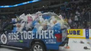 Manitoba Moose Teddy Bear Toss 2019 (03:14)
