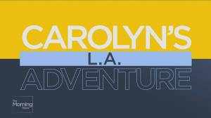 Carolyn tours Warner Bros. studio lot in LA