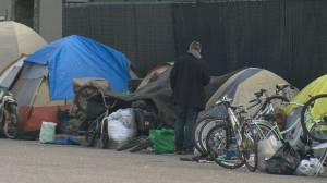 A public appeal is being made to help find a temporary winter shelter for the homeless in Kelowna