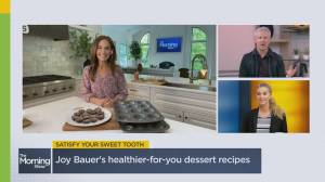 Healthier versions of your favourite desserts (08:41)