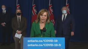 COVID-19: Ontario health minister outlines what you can and can't do in 'emergency brake' shutdown (03:30)