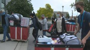 Unprecedented move-in day for students at UBC (02:10)