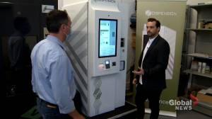 Nova Scotia piloting safe drug-dispensing machine to fight opioid crisis (01:56)