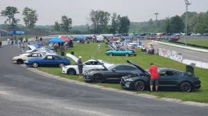 Foxfest car show returns to Peterborough Speedway (01:47)