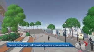 Toronto tech startup transforms virtual learning (01:48)