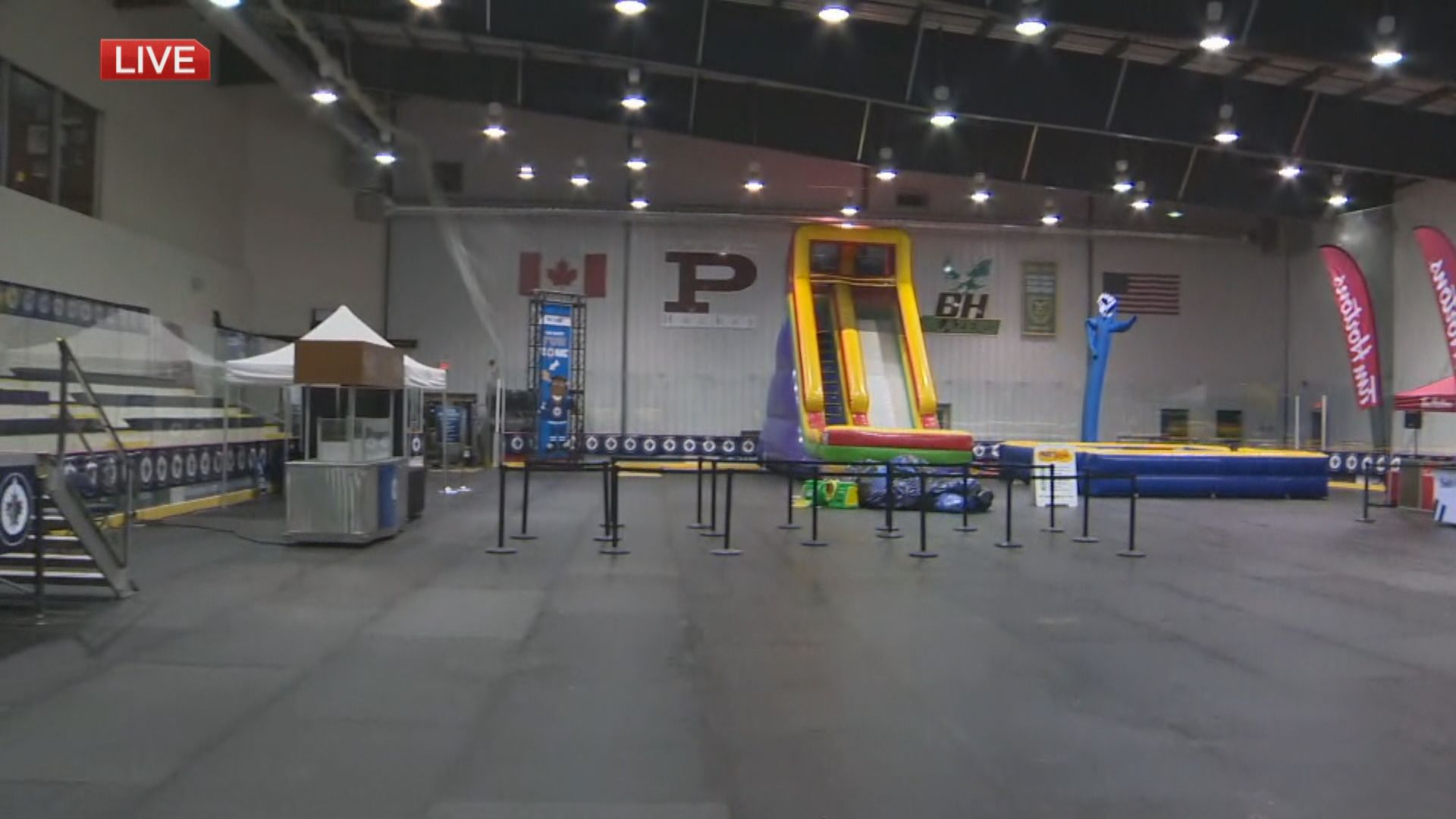 Manitoba Moose milestone at Jets Fan Fest