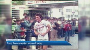 Terry Fox's 41st 'Marathon of Hope' kicks off virtually (04:51)