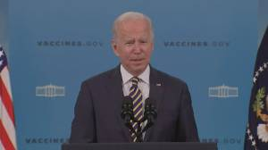 Companies with 100-plus employees will require COVID-19 vaccine mandates, Biden says (02:09)