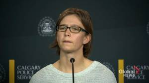 Calgary police hold media availability after laying sex trafficking charges (06:01)