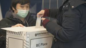 B.C. voters cast ballots on election day (01:47)