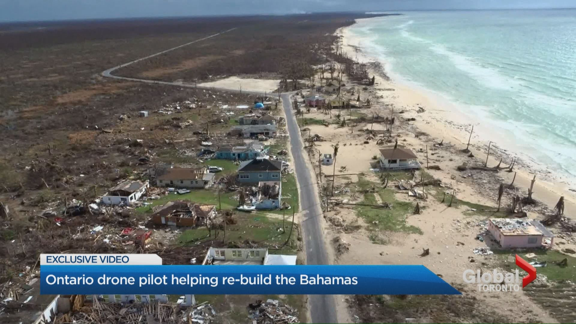 Ontario drone pilot helping rebuild the Bahamas