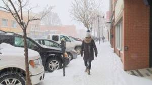 Lethbridge sees colder, snowier fall than usual (01:16)