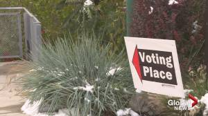 Vernon-Monashee voters react to pandemic election (01:46)