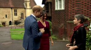 What will Prince Harry and Meghan's new life look like after stepping away as working royals? (02:01)