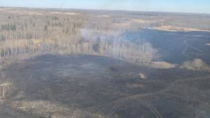 Fire bans, restrictions issued for many Alberta municipalities due to tinder dry spring conditions (01:45)