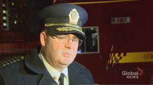 """Fire chief confirms one person being treated for """"significant injuries"""" following Toronto apartment fire"""