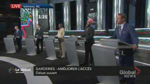 Canada election: Trudeau says O'Toole 'doesn't understand' Quebec's daycare system (01:52)