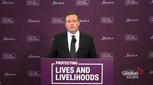 'Abstract political principles don't stop people from piling up in intensive care units': Kenney defends COVID-19 restrictions (02:57)