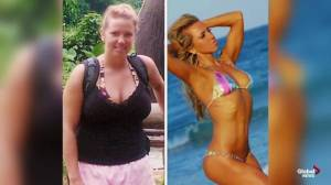 Alberta fitness model's inspires others with weight loss challenges