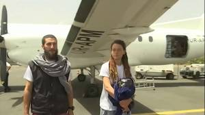 Canadian woman, Italian travelling companion released after abduction in Burkina Faso (02:45)