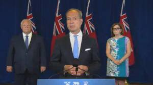 Coronavirus: Ontario premier announces additional measures at restaurants, bars