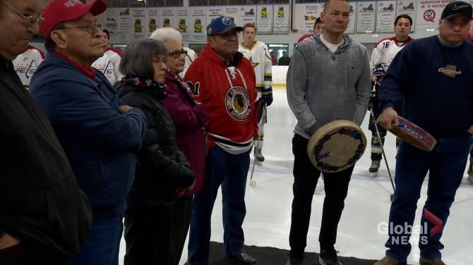 Click to play video: Fred Sasakamoose leaves lasting legacy as Indigenous hockey pioneer
