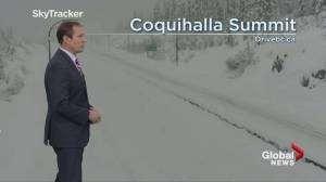 B.C. afternoon weather forecast: Dec 20 (03:50)