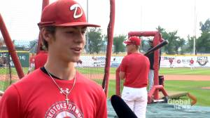 Okotoks Dawgs playing moneyball with record number of scholarships (02:11)