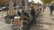 Play video: Efforts to extend Toronto's patio season amid pandemic