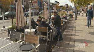 Efforts to extend Toronto's patio season amid pandemic