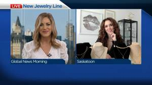 Saskatoon entrepreneur uses time at home to create jewelry line (03:51)