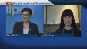 Addressing concerns of the Winnipeg business community (04:22)