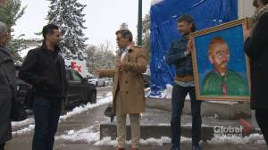 New outdoor art in Calgary features Vincent Van Gogh with 'really cool effect'