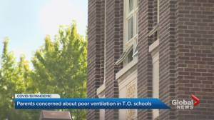 Ontario schools consider outdoor education due to poor ventilation indoors (02:37)