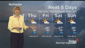 Global News Morning weather forecast: July 21, 2021 (01:23)