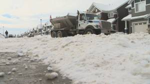Changes proposed for Edmonton's snow-clearing policy