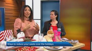 Reducing waste over the holidays