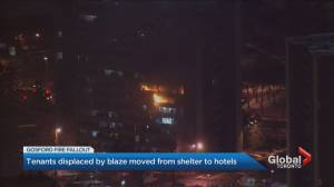 North York tenants displaced by fire moved from shelter to hotels