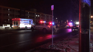 Pedestrian dies of injuries after being struck by vehicle on George St. in Peterborough: police (01:29)