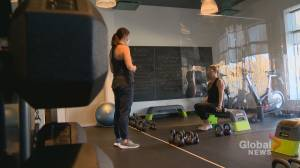 Alberta fitness studios confused by COVID-19 restrictions on group classes, workouts (01:50)