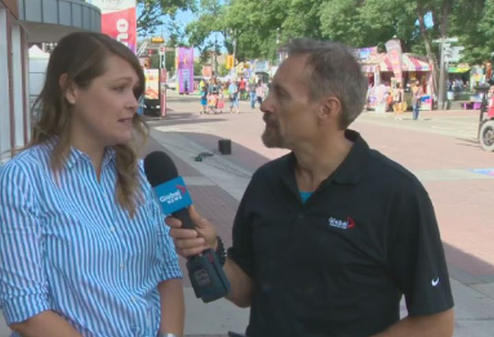Interview with Amber Nash at the Edmonton Fringe Festival