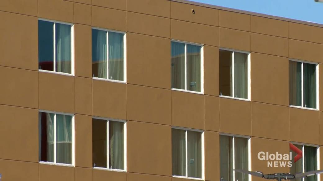 Click to play video 'New hotel quarantine measures in effect Feb. 22'