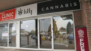 Doors open at Pickering's first cannabis retailer (02:00)