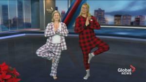 Holiday Pajama Workout