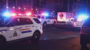 Man shot multiple times in Langley underground parking lot (01:17)