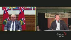 Ontario to build framework for identifying burial sites at former residential schools: Rickford (01:08)