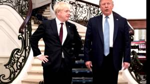 Trump says Boris Johnson's Brexit plan may threaten trade deal with U.S.