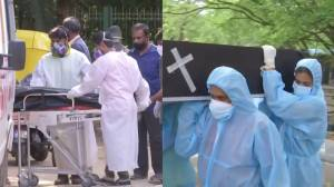 India surpasses daily COVID-19 global death record as volunteers tend to sick and dead (02:52)