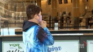 Families reunite at Regina airport (01:00)
